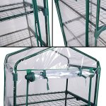 AK-Energy-63-Tall-Portable-Outdoor-4-Shelves-Tier-Garden-Flower-Plant-Clear-Greenhouse-PE-Cover-0-0