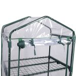 AK-Energy-63-Tall-Portable-Outdoor-4-Shelves-Tier-Garden-Flower-Plant-Clear-Greenhouse-PE-Cover-0-2