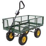 AK-Energy-800Lbs-Capacity-Heavy-Duty-Outdoor-Utility-Garden-Farm-Cart-Wagon-Flatbed-Steel-Trailer-wLiner-0-0