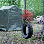 Abba-Patio-Storage-Shelter-6-x-8-Feet-Outdoor-Carport-Shed-Heavy-Duty-Car-Canopy-Grey-0-1