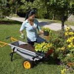 AlekShop-Multipurpose-cart-Wheelbarrow-Yard-Courtyard-Garden-Transport-Heavy-Duty-Cart-8-in-1-Multi-Function-0-1