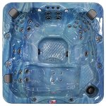 American-Spas-AM-756LP-6-Person-56-Jet-Lounger-Spa-with-Bluetooth-Stereo-System-0