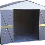Arrow-Designer-Steel-Storage-Shed-JavaSand-10-x-8-ft-0-0
