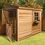 Bayside-12-x-4-Lean-To-Cedarshed-0-1