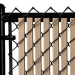 Beige-Double-Wall-Bottom-Lock-Fence-Slat-for-4ft-Chain-Link-0