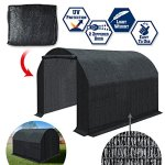 BenefitUSA-80-Sunblock-Shade-Cloth-Replacement-Cover-Canopy-For-Greenhouse-Walk-In-Outdoor-Plant-Gardening-Greenhouse-Plant-House-FRAME-not-Include-0