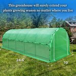 BenefitUSA-Large-Portable-Greenhouse-Heavy-Duty-Walk-In-Outdoor-Plant-Gardening-Hot-Green-House-with-ABS-Snap-Clamp-0