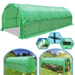 BenefitUSA-Portable-Greenhouse-246-X10-X-7-Walk-In-Outdoor-Plant-Gardening-Hot-Green-House-with-ABS-Snap-Clamp-0