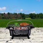 Bruntmor-Pre-Seasoned-Hibachi-Style-Portable-Cast-Iron-Charcoal-BBQ-Grill-0-0