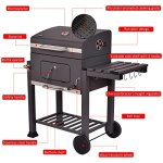 COSTWAY-Charcoal-Grill-Barbecue-BBQ-Grill-Outdoor-Patio-Backyard-Cooking-Wheels-Portable-Only-By-eight24hours-FREE-E-Book-0-1