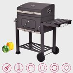 COSTWAY-Charcoal-Grill-Barbecue-BBQ-Grill-Outdoor-Patio-Backyard-Cooking-Wheels-Portable-Only-By-eight24hours-FREE-E-Book-0-2