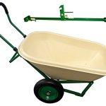 CR-Daniels-Loadumper-42069-Wheelbarrow-with-Bonus-Hitch-6-cu-ft-TanGreen-0