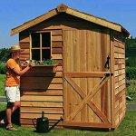 Cedar-Shed-6-x-9-ft-Gardener-Storage-Shed-0