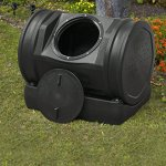 Compost-Tea-Tumbler-Bin-Backyard-Garden-52-Gallon-7-Cubic-Feet-Made-SWith-100-Recycled-Plastic-For-Strength-Durability-Adjustable-Air-Vents-Makes-Compost-In-Just-2-Weeks-Lighweight-Efficient-0-2