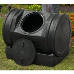 Compost-Tea-Tumbler-Bin-Backyard-Garden-52-Gallon-7-Cubic-Feet-Made-SWith-100-Recycled-Plastic-For-Strength-Durability-Adjustable-Air-Vents-Makes-Compost-In-Just-2-Weeks-Lighweight-Efficient-0