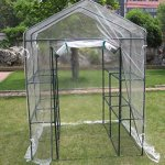 Deluxe-6-tier-Walk-In-Portable-Greenhouse-with-12-Shelves-and-Clear-PVC-Cover-0-0