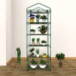 Evokem-5-Tier-Mini-Plants-Greenhouse-Reinforced-Replacement-PVC-Cover-Garden-Plants-Greenhouse-US-Stock-0-1