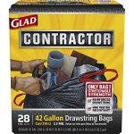Glad-Contractor-28-Count-42-Gallon-Black-Construction-Trash-Bags-0