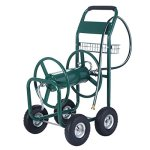 Gracelove-Garden-Water-Hose-Reel-Cart-300FT-Outdoor-Heavy-Duty-Yard-Planting-WBasket-New-0