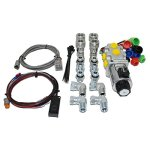 Hydraulic-Multiplier-Selector-Valve-Kit-wSwitch-Couplers-Fittings-10-SAE-Ports-30-GPM-0