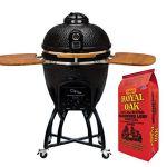 Icon-Grills-C51-Series-Black-Charcoal-Grill-Royal-Oak-8-lb-Bag-Lump-Charcoal-0