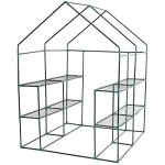 Lapha-Greenhouse-Plants-Flowers-Portable-Mini-Walk-In-Outdoor-Green-House-Plant-Growing-Tents-8-Shelves-2-Tier-0-2