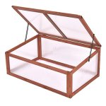MD-Group-Greenhouse-Garden-Portable-Wooden-Planter-Plants-Growth-Polycarbonate-Box-0-1