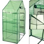 MD-Group-Portable-Greenhouse-8-Shelves-Garden-Nursery-Plants-Growth-House-Mini-Outdoor-PE-Mesh-0-2