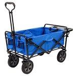Mac-Sports-Folding-Garden-Utility-Wagon-wTable-Blue-0-0