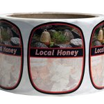 Mann-Lake-250-Count-Garden-Skep-Local-Honey-Label-2-by-2-38-Inch-0