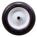 Marathon-350250-8-Flat-Free-Tire-on-Wheel-3-Hub-58-Bearings-0-0