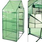 MascarelloPortable-Mini-8-Shelves-Walk-In-Greenhouse-Outdoor-4-Tier-Green-House-New-0-1