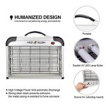 Micnaron-Electric-Bug-Zapper-with-Handle-Pest-Repeller-Control-Strongest-Indoor-2800-V-20W-6000ft-UV-Lamp-Flying-Fly-Insect-Killer-Mosquitoes-Indoor-Use-Only-Free-2-Pack-Replacement-Bulbs-0-1