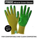 Miracle-Gro-Dual-Chamber-Compost-Tumbler–Outdoor-Bin-with-Easy-Turn-System-2-Sliding-Doors-Sturdy-Steel-Frame–All-Season-Composter-BPA-Free-FREE-Scotts-Gardening-Gloves-2-X-185gal70L-0-1