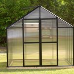 Monticello-Set-of-Hinged-Doors-for-Black-Greenhouse-0