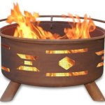 Mosaic-Santa-Fe-Fire-Pit-with-Grill-and-FREE-Cover-0