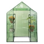 NEW-Portable-Mini-8-Shelves-Walk-In-Greenhouse-Outdoor-4-Tier-Green-House-0