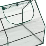 OGrow-Ultra-Deluxe-Compact-Outdoor-Seed-Starter-Greenhouse-Cloche-0-1