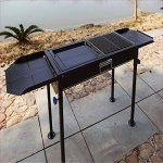 OOOQDUA-Barbecue-frame-household-stainless-steel-square-assembly-portable-0