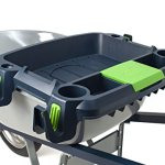 Original-Little-Burro-USA-made-lawngarden-tray-for-all-4-6-cu-ft-wheelbarrows-Holds-rake-shovel-short-handle-tools-drinks-water-tight-storage-for-phone-Wheelbarrow-not-included-Great-gift-0