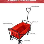 Outdoor-Collapsible-Utility-WagonFolding-Collapsible-Garden-Shopping-Cart-Trolley-Trailer-Steel-Carrier-Wheelbarrow-0-2