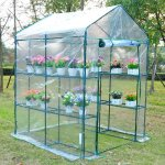 Outsunny-5-x-5-x-6-Portable-Walk-in-Garden-Steeple-Greenhouse-0-0
