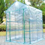 Outsunny-5-x-5-x-6-Portable-Walk-in-Garden-Steeple-Greenhouse-0-2