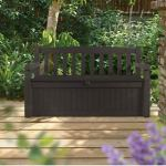 Patio-Storage-Bench-Waterproof-70-Gal-All-Weather-Outdoor-Patio-Storage-Bench-Deck-Box-Brown-Free-EBook-by-Stock4All-0