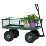 Peach-Tree-Garden-Cart-Utility-Yard-Wagon-with-Removable-Sides-with-a-Capacity-of-650-lb-Green-0