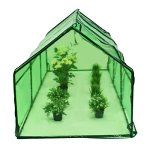 Picotech-Portable-Greenhouse-PVC-Cover-Heavy-Duty-Power-Coated-Steel-Pipe-Green-Strong-Frame-Stable-Clear-Sturdy-Durable-Lightweight-Roll-up-Door-Zipper-Large-Easy-Setup-home-gardeners-hobby-botanist-0-1