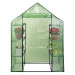 Planter-Walk-in-Portable-Greenhouse-Happy-Mini-8-4-Tier-Green-House-Walk-In-Shelves-Outdoor-New-0-0