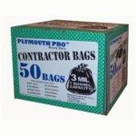 Primrose-Plastics-31250-Contractor-Clean-up-Bag-42-Gallon-Black-0