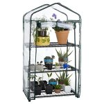 Pure-Garden-3-Tier-Mini-Greenhouse-with-Cover-275-x-19-x-50-inches-0