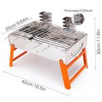 RioRand-BBQ-Grill-Portable-Charcoal-Barbecue-Folding-Lightweight-Barbeque-Grills-Tools-for-Outdoor-Indoor-Garden-Backyard-Cooking-Camping-Hiking-Beach-Picnics-Tailgating-Backpacking-0-1